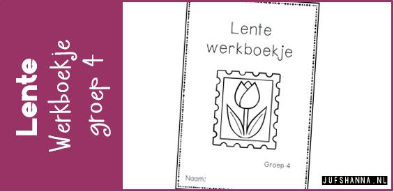 Goede JufShanna.nl | Thema lente - werkboekje voor groep 4 TP-87