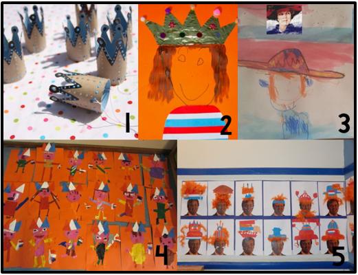 JufShanna.nl : Koningsdag: 5 leuke teken- en knutselopdrachten